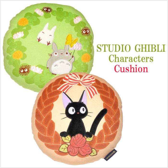 スタジオジブリ(STUDIO GHIBLI) となりのトトロ 魔女の宅急便 クッション サイズ/(約)32×32×11cm