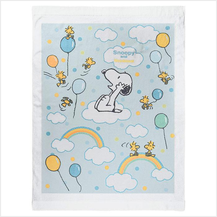 【送料無料】スヌーピー(SNOOPY) ベビー タオルケット バルーン サイズ/(約)85×115cm