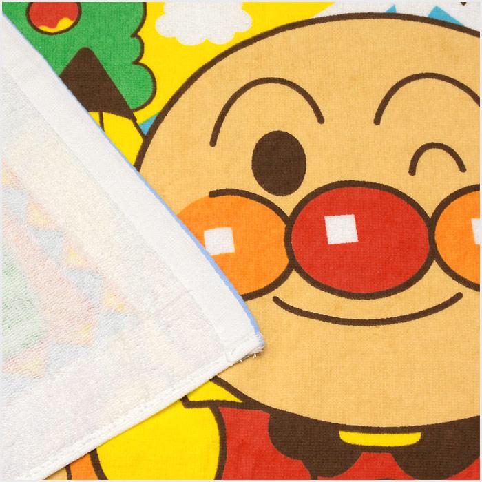 バンダイ(BANDAI) アンパンマン バスタオル サイズ/(約)60×115cm