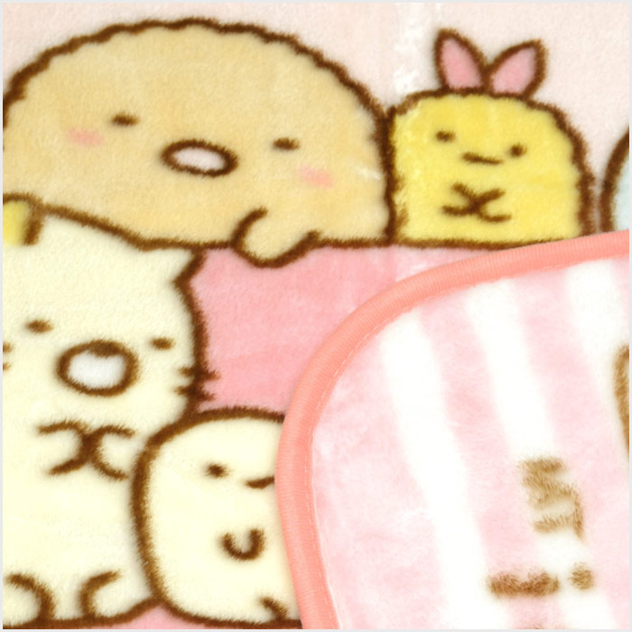 すみっコぐらし(Sumikkogurashi) マイヤー いつものすみっコ ひざ掛け サイズ/(約)70×100cm CMY3-SG-IS