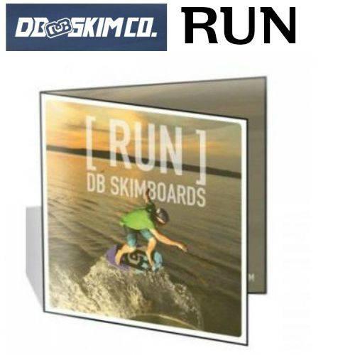 DB(ディービー)RUN(ラン)DVD FLATSKIM(フラットスキム)