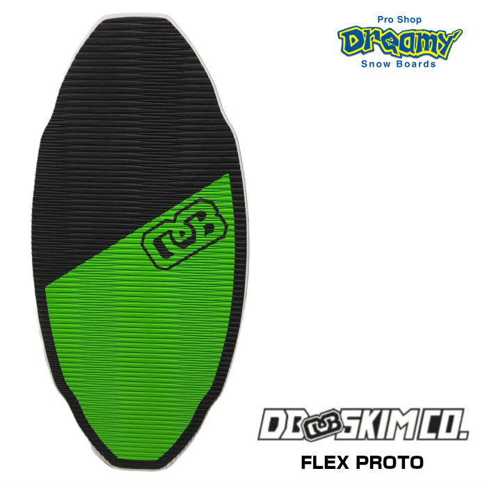 DB ディービー FLEX PROTO フレックス プロト BLK/GRN 3枚層 軽量 FLATSKIM フラットスキム スキムボード