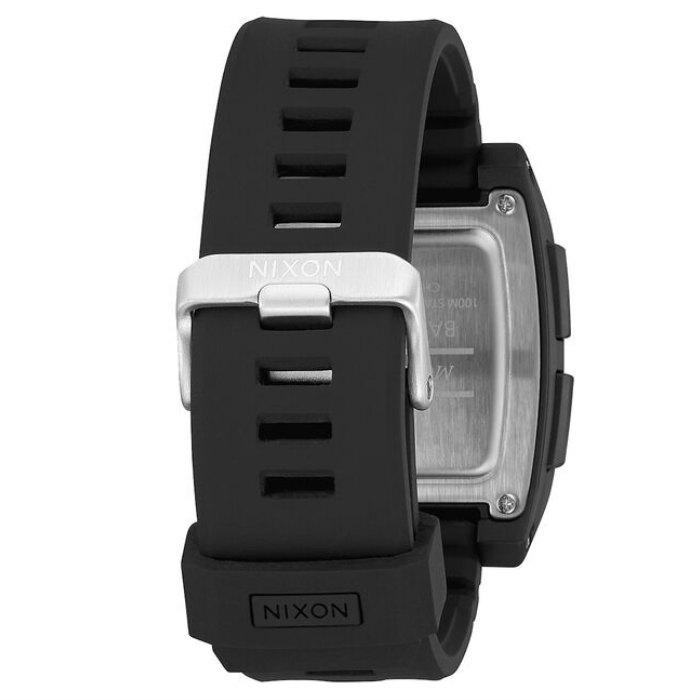 NIXON ニクソン Base Tide Pro ベース タイド プロ A1307-000-00 Black 100M/10気圧防水 ダブルLocking Loopers 波カウンター デジタルウォッチ 腕時計 正規品