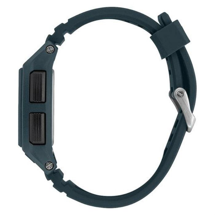 NIXON ニクソン Base Tide Pro ベース タイド プロ A1307-2889-00 Dark Slate 100M/10気圧防水 ダブルLocking Loopers 波カウンター デジタル 腕時計 正規品