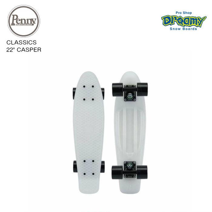 "PENNY SKATEBOARD ペニースケートボード CLASSICS 22"" CASPER 22インチ クラシックス蓄光  ウィール59mm ベアリング Abec7 STEEL  正規品"