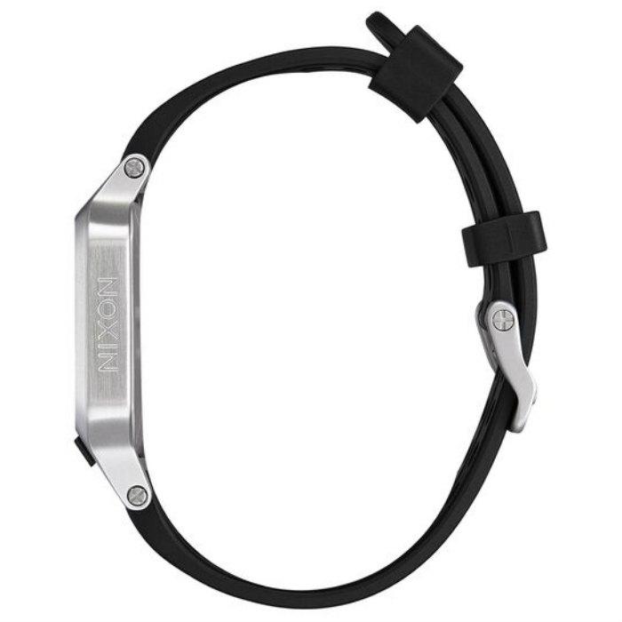 NIXON ニクソン Heat ヒート A1320-130-00 Silver 100M/10気圧防水 38mm 軽量 LCDモジュール SEND IT通知 クロノグラフ 高機能 デジタルウォッチ 腕時計 正規品