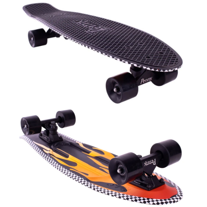 "PENNY SKATEBOARD ペニースケートボード GRAPHICS 27"" OPEN ROAD FLAME  1NGR5 NICKEL 27インチ   ウィール59mm  Abec7 STEEL 正規品"