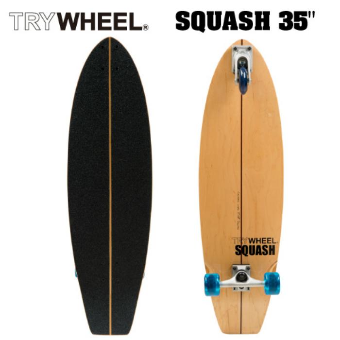 TRY WHEEL トライウィール SQUASH 35 スカッシュ スケートボード スケボー サーフボード サーフィン オフトレ 3輪 正規品