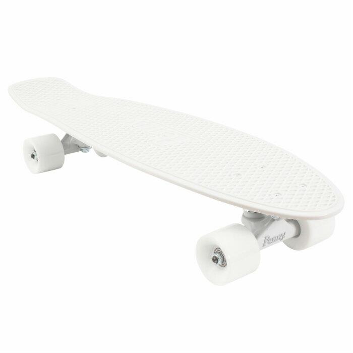 ★即納★Penny ペニースケートボード STAPLES ステープル 1NST1 新色 27インチ WHITE 特殊プラスティック ウィール59mm  Abec7 STEEL 正規品
