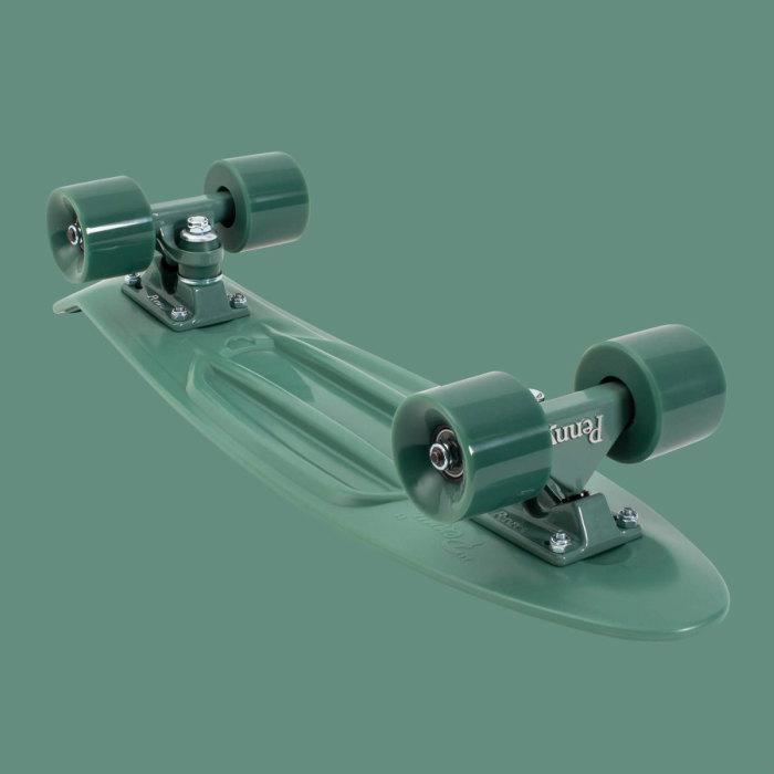 ★即納!ペニー★Penny ペニースケートボード STAPLES ステープル OPST1 新色 22インチ GREEN 特殊プラスティック ウィール59mm  Abec7 STEEL 正規品