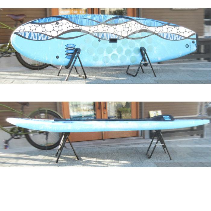 サーフ アンド サップ折りたたみマルチスタンド サーフィン SUP サップ スタンドアップボード wax台