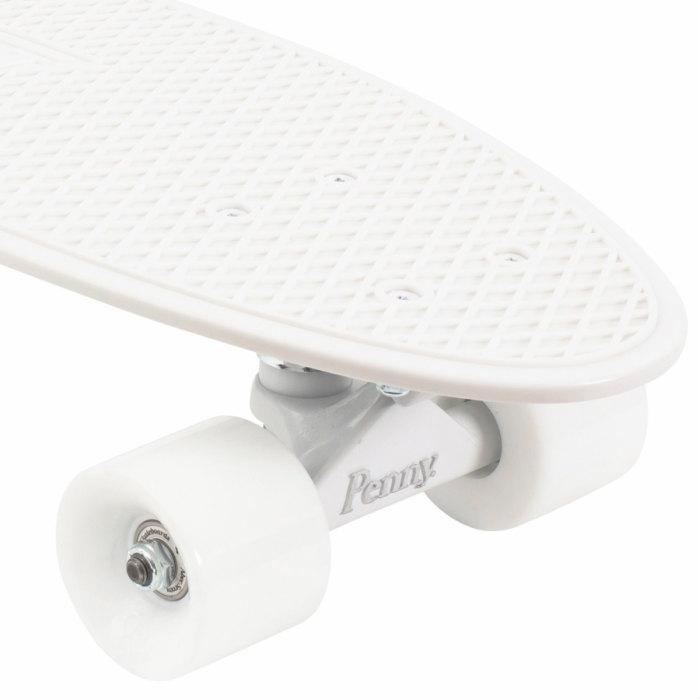 ★即納★Penny ペニースケートボード STAPLES ステープル OPST1 新色 22インチ WHITE 特殊プラスティック ウィール59mm  Abec7 STEEL 正規品