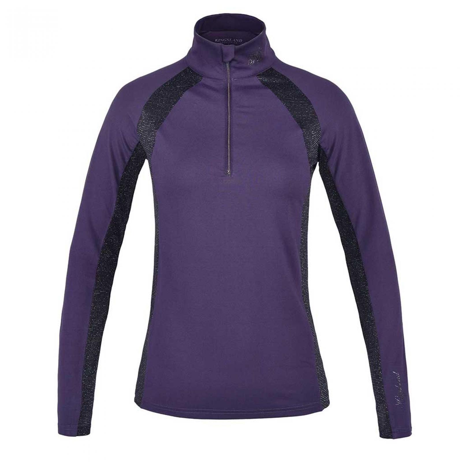 (KL)ダニエラ レディース ZIPトレーニングシャツ