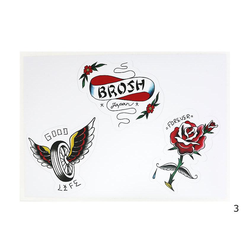 BROSH STICKER SHEET/BROSH(ステッカー)