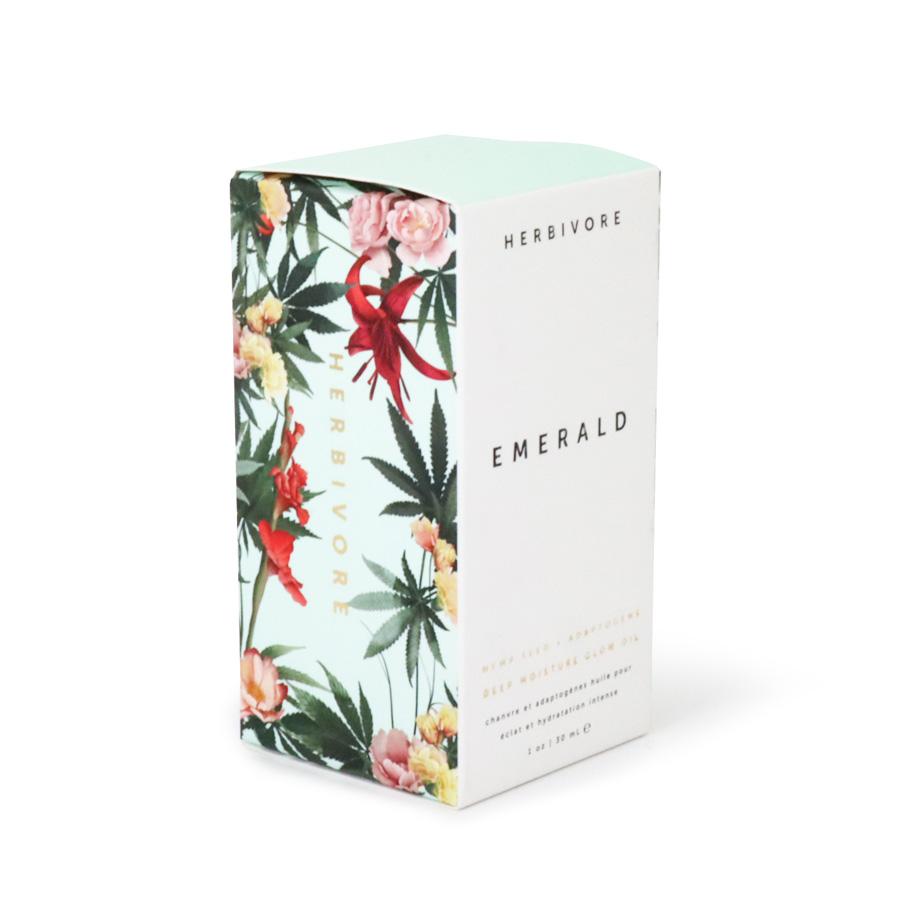 エメラルド ディープモイスチャーフェイスオイル 30mL/Herbivore Botanicals(フェイスオイル)