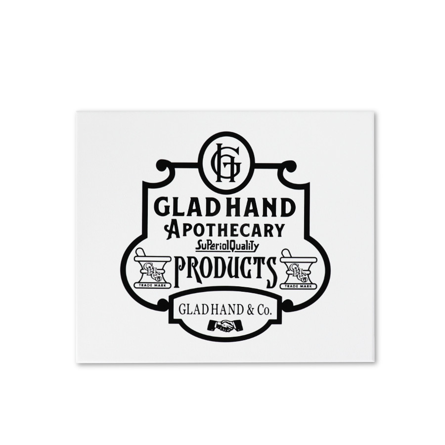フェイスタオル ファミリークレスト White(2pack)/GLAD HAND APOTHECARY(フェイスタオル)