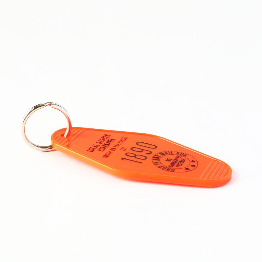 HOTEL TAG2(オレンジ)/LBH(キーホルダー)