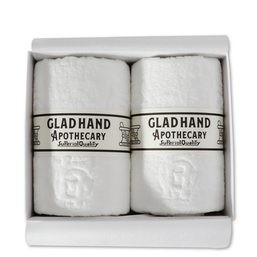 バスタオル ファミリークレスト White(2pack)/GLAD HAND APOTHECARY(バスタオル)