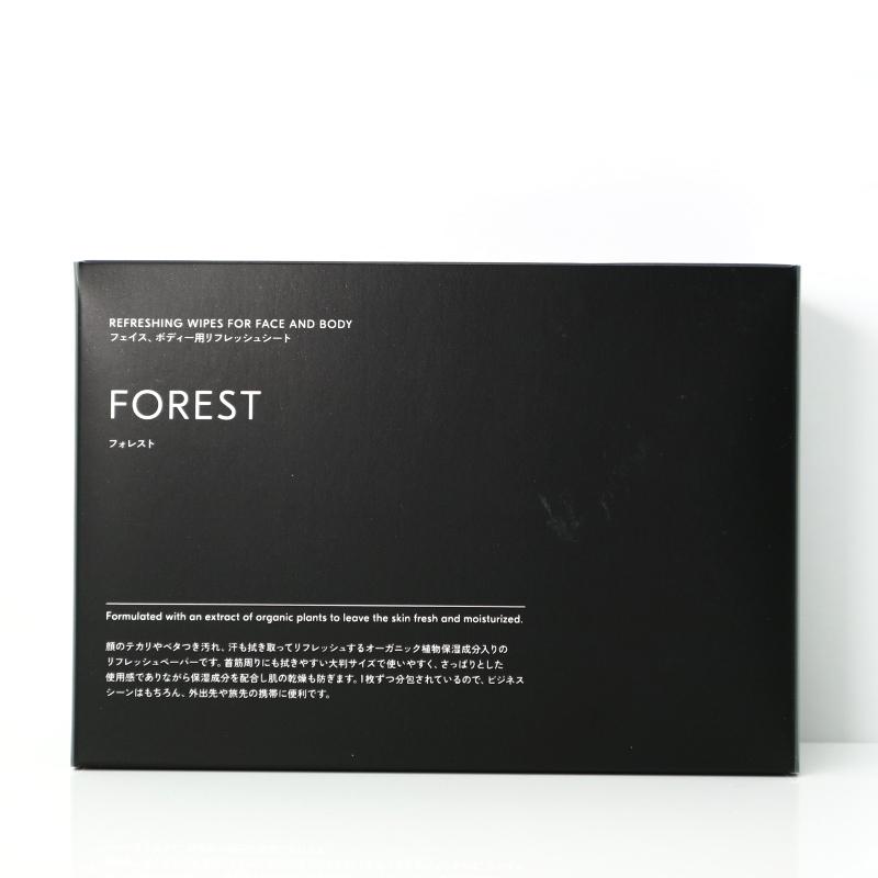 FOREST フェイス&ボディー用リフレッシュシート/DEXT(ボディーシート)