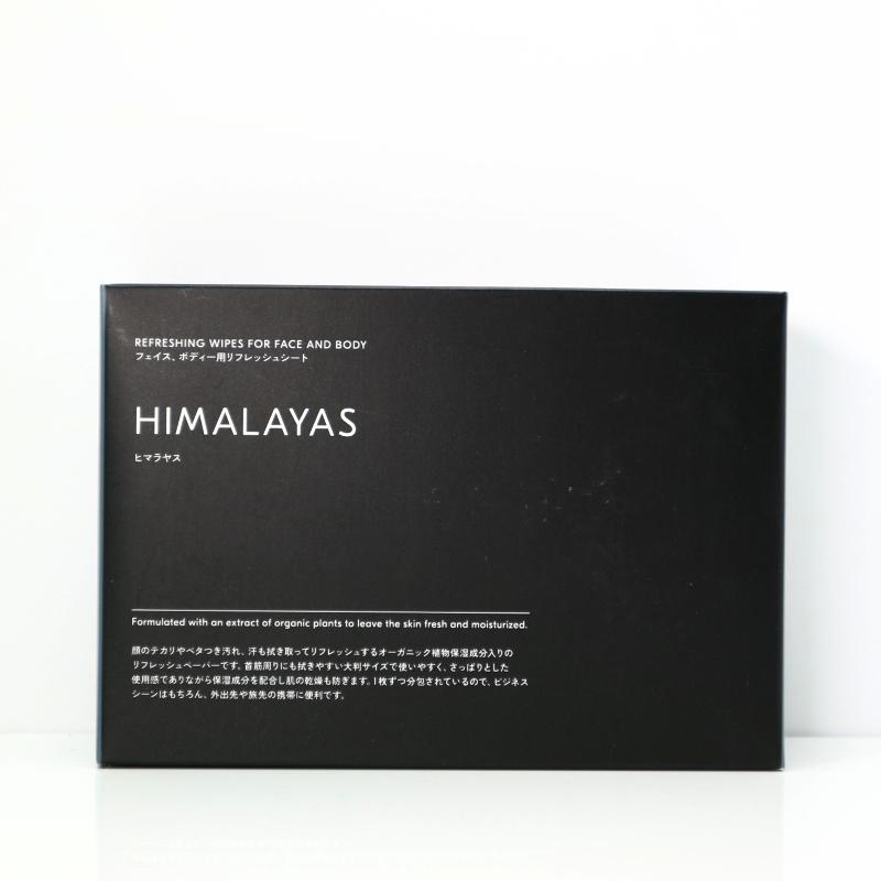 HIMARAYAS フェイス&ボディー用リフレッシュシート/DEXT(ボディーシート)