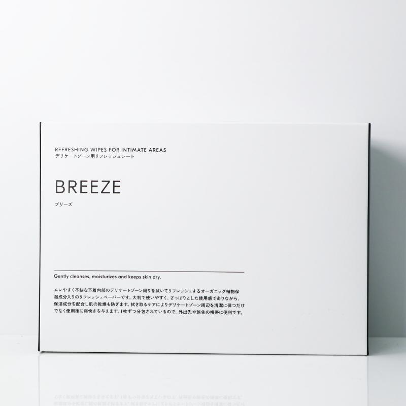 BREEZE デリケートゾーン用リフレッシュシート/DEXT(ボディーシート)