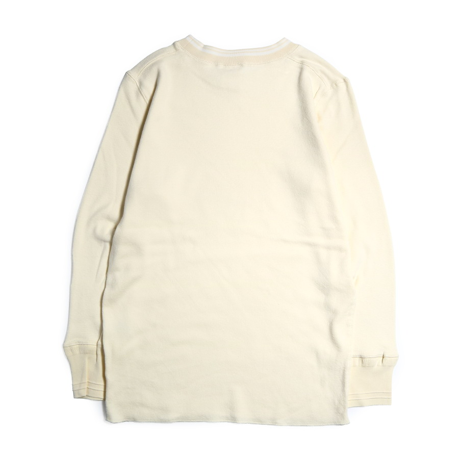 THICK L/S T-SHIRTS WH/GLAD HAND (Tシャツ)