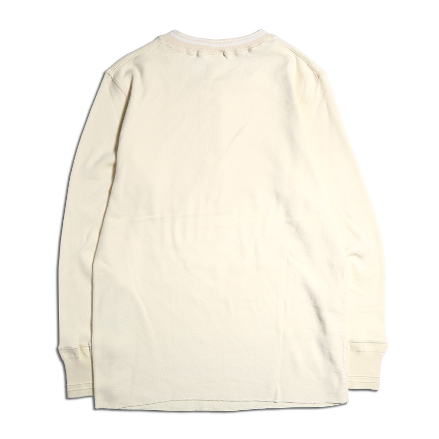 THICK HENRY L/S T-SHIRTS WH/GLAD HAND (Tシャツ)