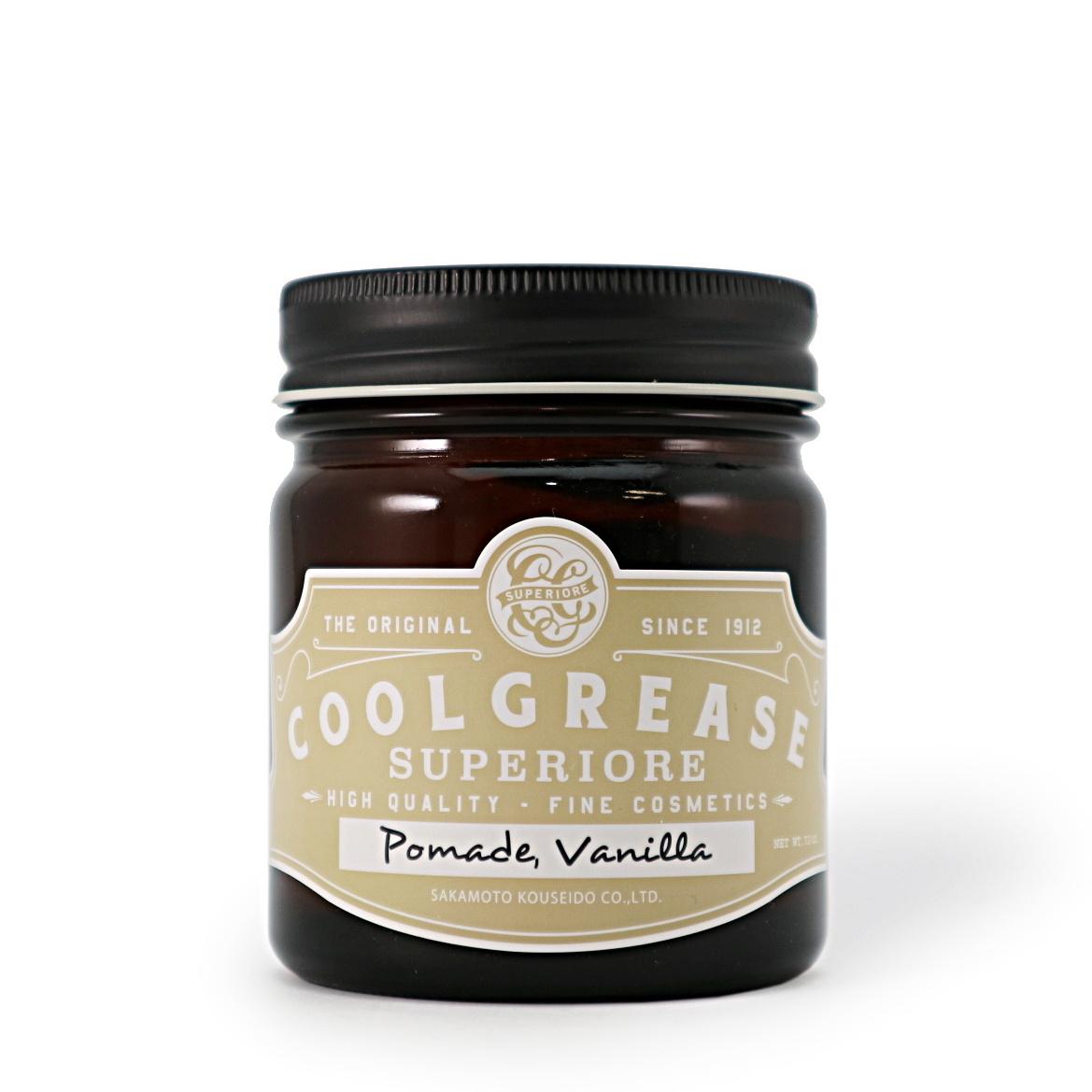 POMADE VANILLA/COOL GREASE SUPERIORE(ポマード)