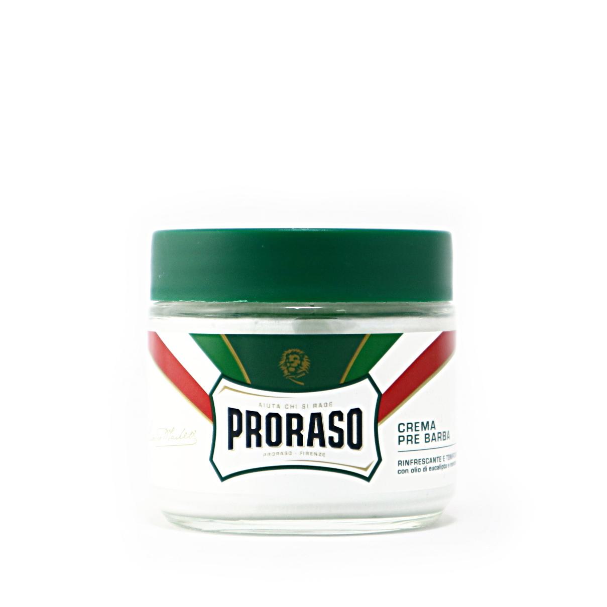 プレシェーブクリーム リフレッシュ/PRORASO(シェービングクリーム)
