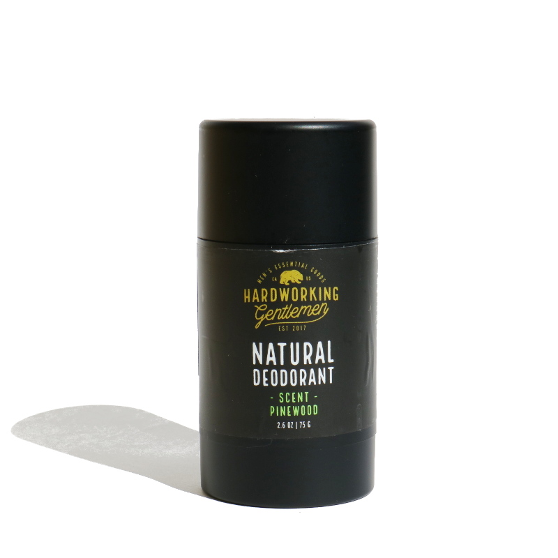 Natural Pinewood Deodorant/HARD WORKING GENTLEMAN(デオドラントバーム)