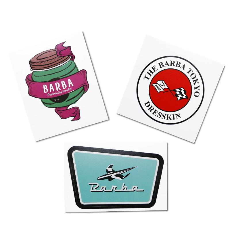 THE BARBA TOKYO ステッカー3枚セット/BARBAオリジナル(ステッカー)