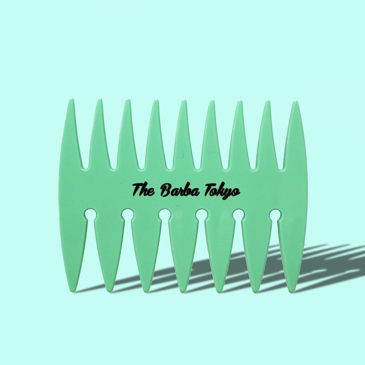 THE BARBA TOKYOオリジナルメッシュコーム ミント/BARBA(コーム)