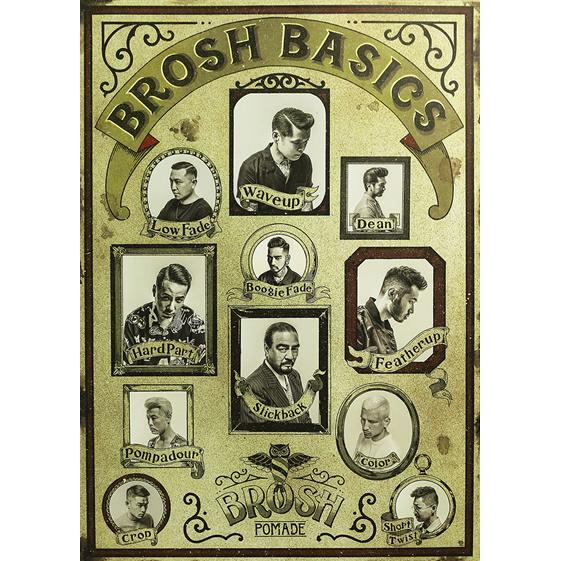 BROSH BASICS POSTER/BROSH(ポスター)