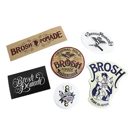 BROSH STICKERS SET/BROSH(ステッカー)