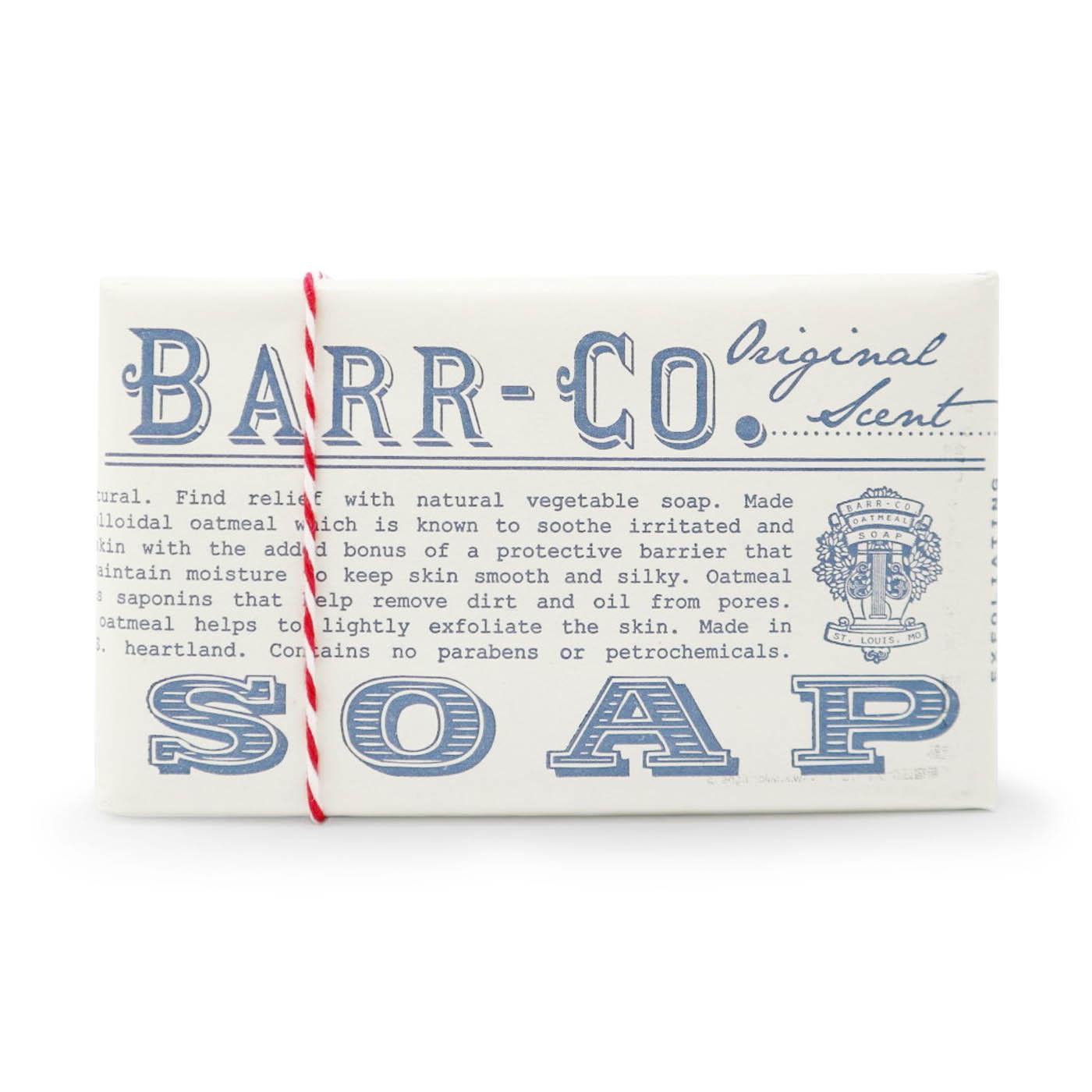 バーソープ ミルク&バニラ/BARR-CO(石鹸)