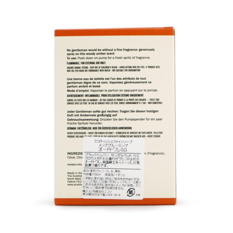 オードトワレ 100ml/Scottish Fine Soaps(香水)
