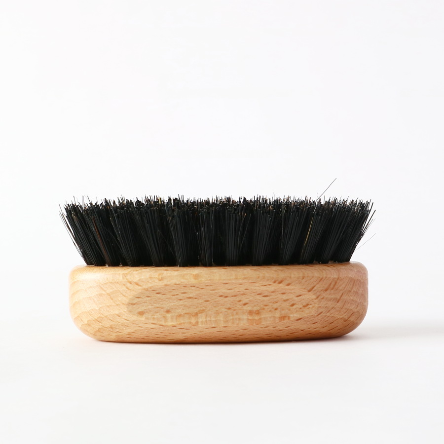 Old Style Moustache Brush/PRORASO(髭用ブラシ)