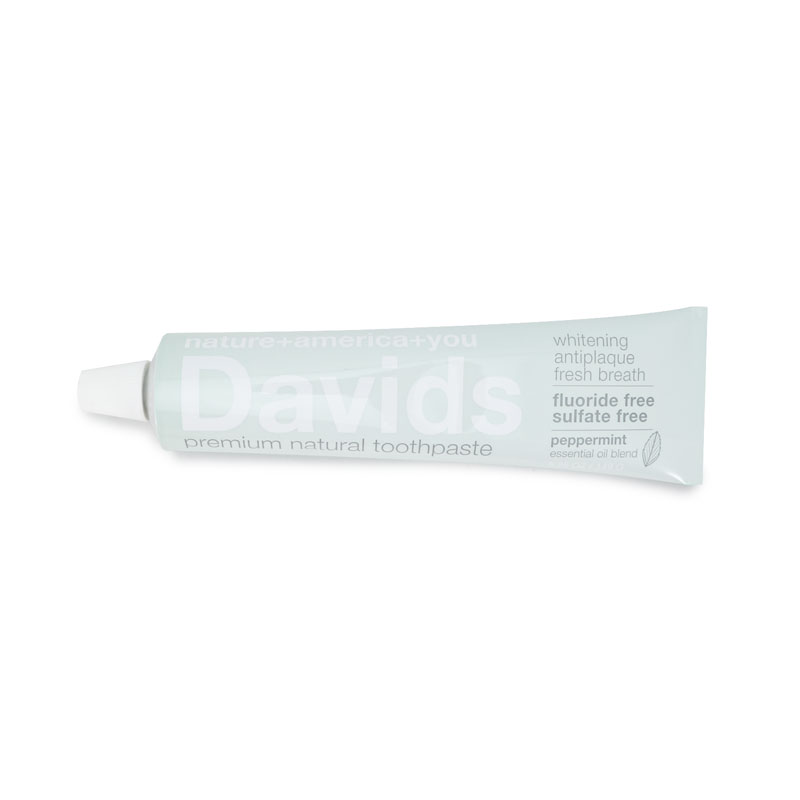 ホワイトニング トゥースペースト(ペパーミント)/Davids(歯磨き粉)