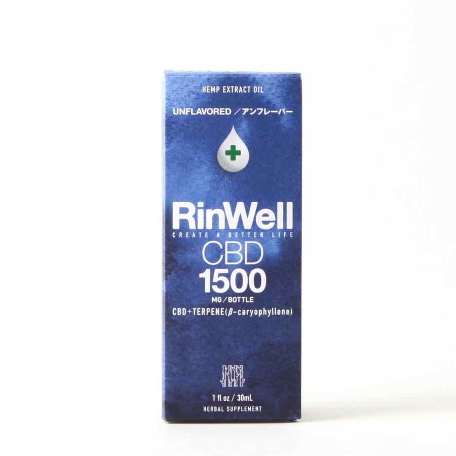 アンフレーバー CBDオイル 1500mg/RinWell(CBDオイル)