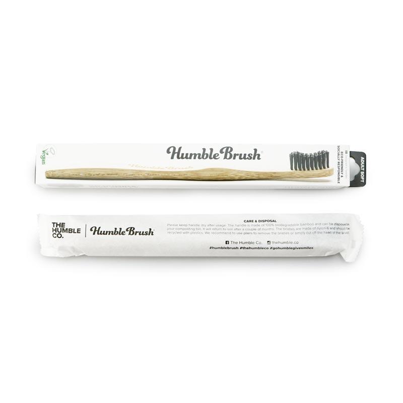 歯ブラシ ブラック/HUMBLE BRUSH(歯ブラシ)