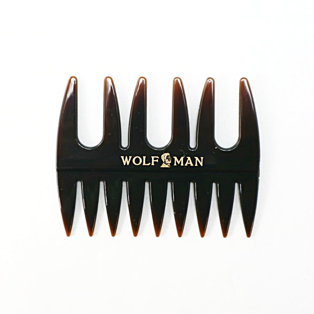 WOLFMAN オリジナルウェーブコーム/WOLFMAN(クシ)