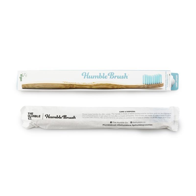 歯ブラシ ブルー/HUMBLE BRUSH(歯ブラシ)