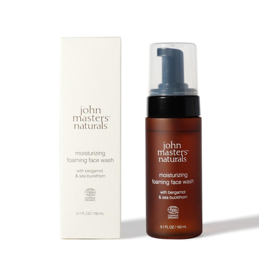 B&Sモイスチャライジングフォーミングフェイスウォッシュ(ベルガモット&シーバックソーン)/john masters organics(洗顔)