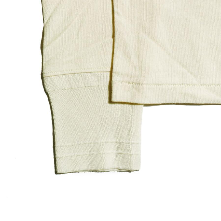STANDARD POCKET L/S T-SHIRTS WH/GLAD HAND (Tシャツ)