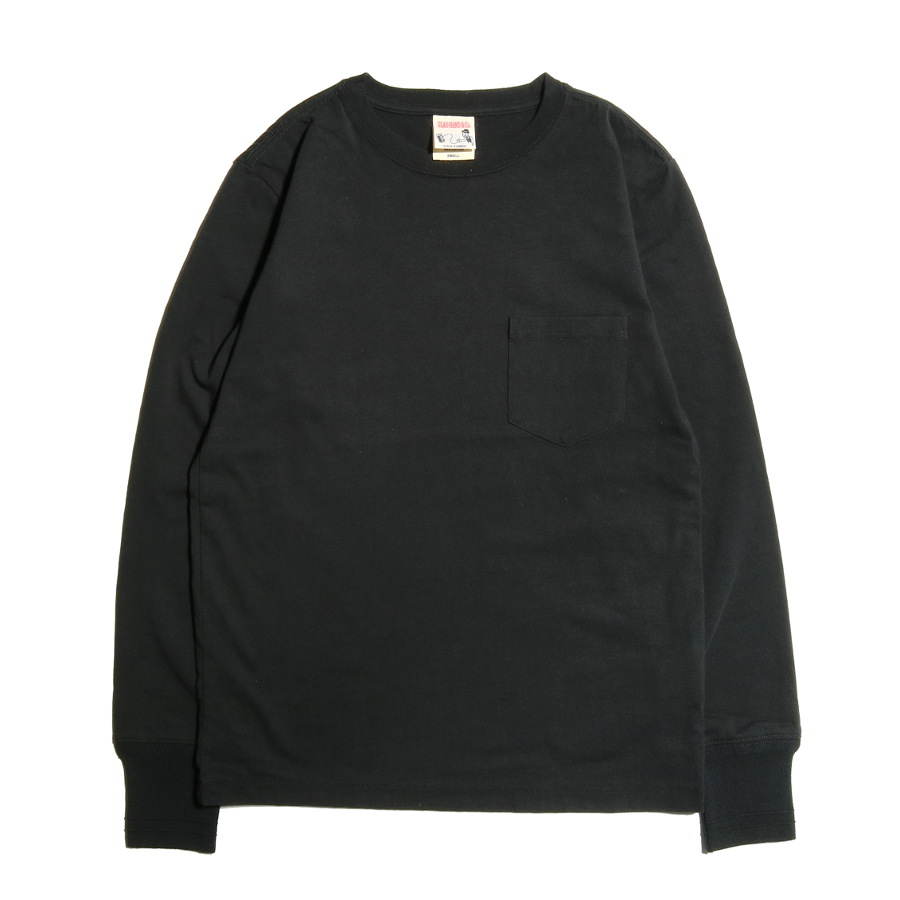 STANDARD POCKET L/S T-SHIRTS BK/GLAD HAND (Tシャツ)