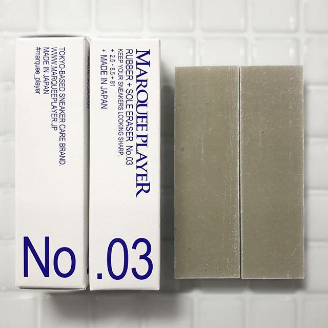 ラバー&ソール用消しゴム �3/MARQUEE PLAYER(スニーカー用消しゴム)