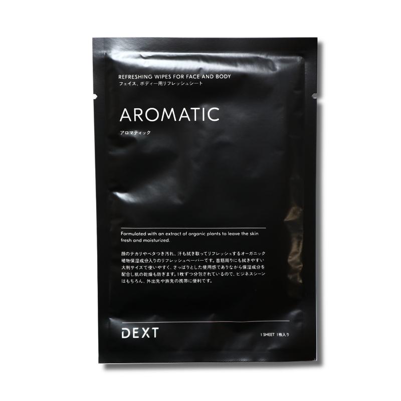 AROMATIC GIFT SET 11(リフレッシュシート&マウスウォッシュ)/DEXT(ギフトセット)