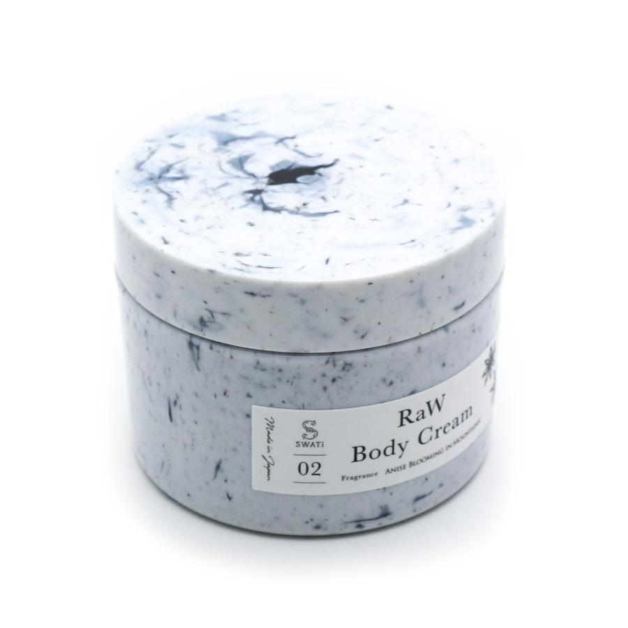 RaW Body Cream (Anise blooming in Mountains!) / SWATi(ボディークリーム)