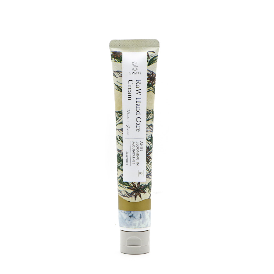 RaW Hand Care Cream (Anise blooming in Mountains!) / SWATi(ハンドクリーム)