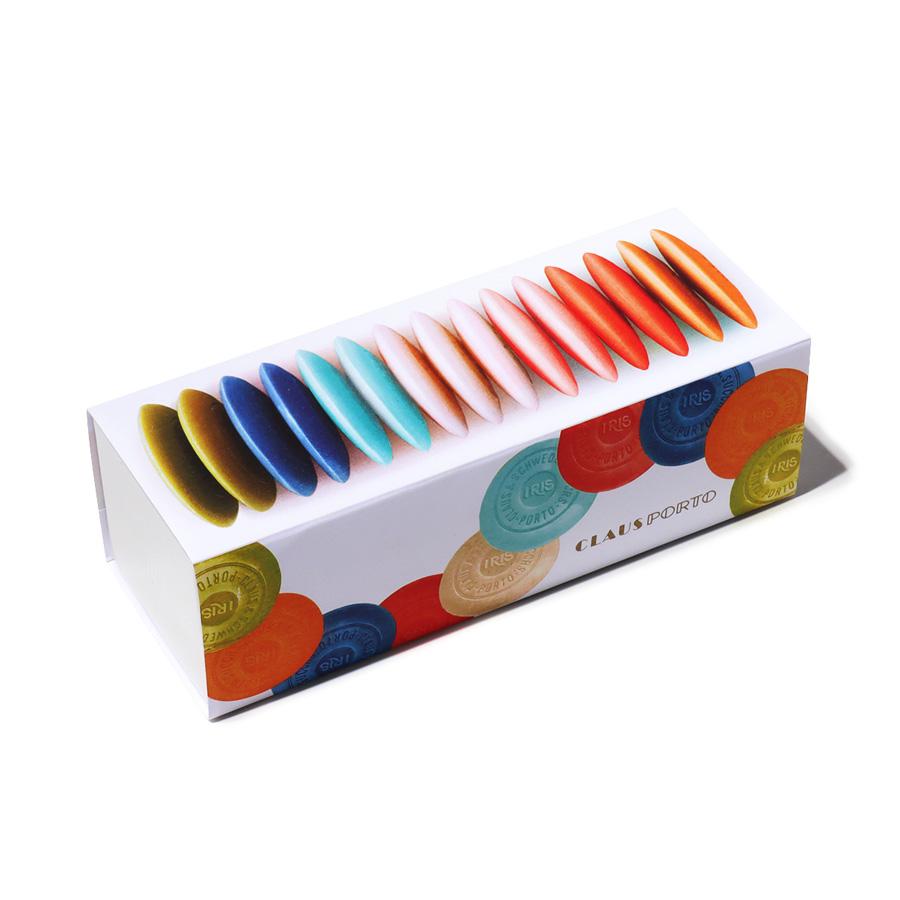IRIS GUEST SOAP BOX (15×10g)/CLAUS PORTO(石鹸)